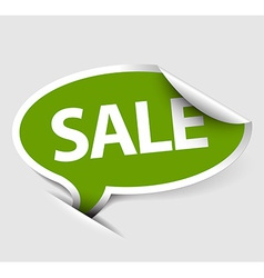 Sale speech bubble vector image