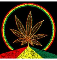 Cannabis-marijuana-background vector