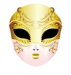 Decorative Carnival Mask vector