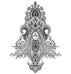 Durga Puja vector image