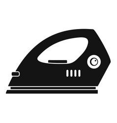 electric iron icon simple style vector image