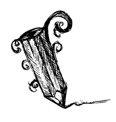 Hand Drawn Pencil vector image