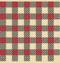 plaid seamless pattern classic scottish cage vector image