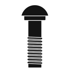 Rivet icon simple style vector