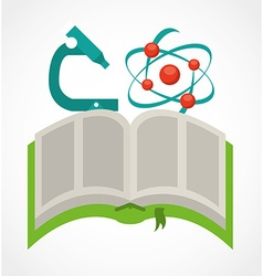 science book vector image