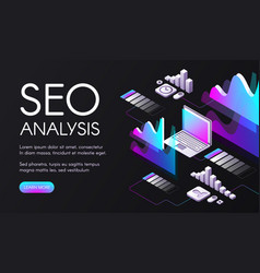 seo search engine optimization vector image