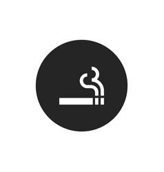 smoking icon vector image
