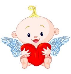 Valentines day cupid vector