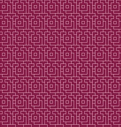 Repeating geometric background seamless pattern vector image