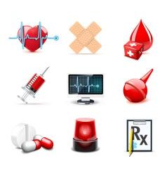 medical icons   bella series 1 vector image vector image