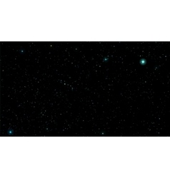 Stars in night sky Background vector image vector image