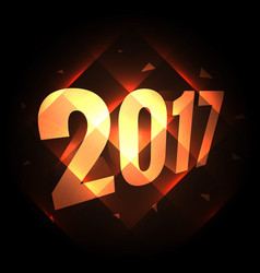 2017 holiday new year background with diagonal vector