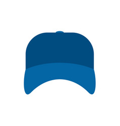 blue plumber cap isolated serviceman hat vector image