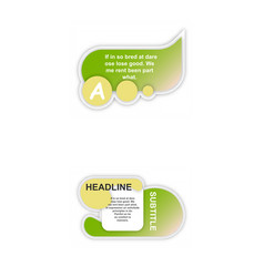 Business infographic template presentation vector