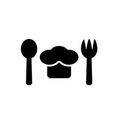 chef symbol vector image