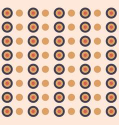 circular shapes pattern vector image