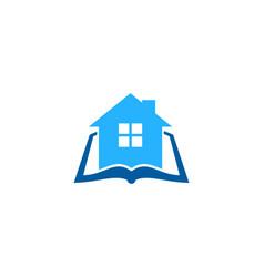 House book logo icon design vector