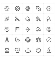 Mini icon set - sport icon vector