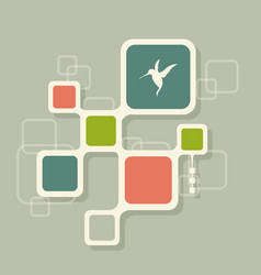 network digital social media technology concept vector image