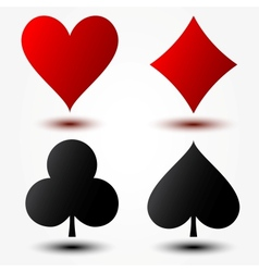 Playing Cards Suits vector