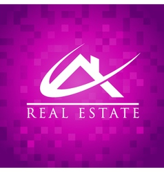 Real Estate House Roof Logo Icon vector