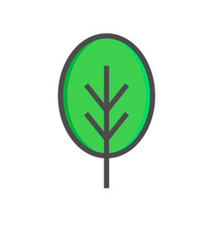 tree icon tree icon isolated vector image