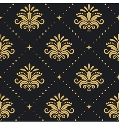 Floral royal background vector image vector image