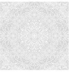 Abstract square pattern for adult coloring book vector