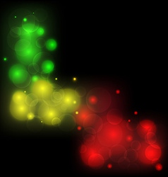 blurred background abstract colorful light glowing vector image