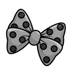 Bow cute female icon vector