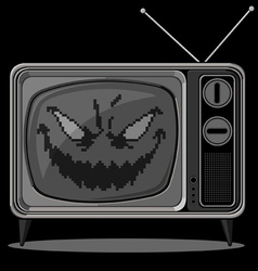 Evil Television vector