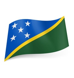 Flags icon solomon islands 01 vector