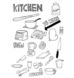 Kitchen thing vector