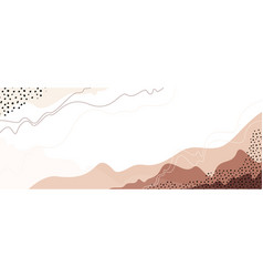 Landscape background abstract art earth vector