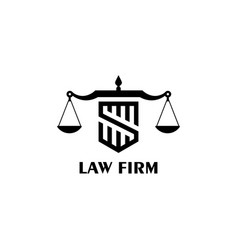 Law firm vector