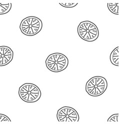 Lemon hand drawn vector