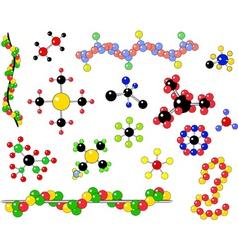 Molecules vector