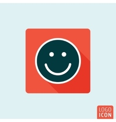 Smilr icon isolated vector image