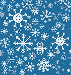 Snowflake design vector