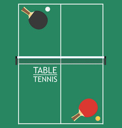 table tennis vector image