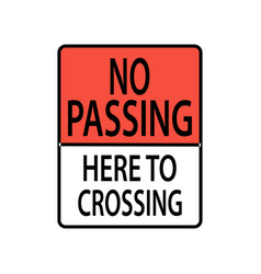 Usa traffic road signs pedestrian crossover vector