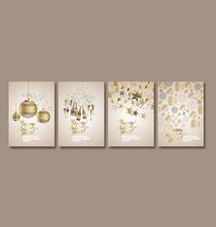 Concept luxury xmas design vector