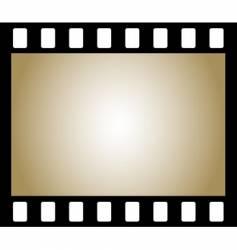 negative photo film vector image