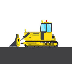 Colorful steam roller picture vector