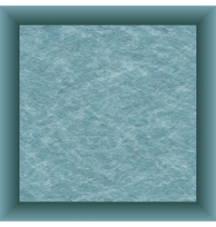 Blue paper square and shadow vector