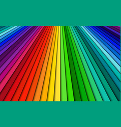 brightly colored abstract background spectrum vector image