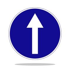 mandatory direction vector image