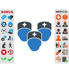 Medical Staff Icon vector image
