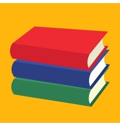 Nice Books flat icons vector