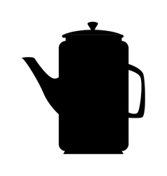 Pot pitcher drink icon vector